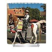 Perfect Cowboy Rider Shower Curtain