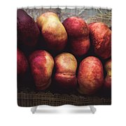 ... Pesche Tabacchiere ... Shower Curtain