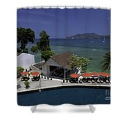 Phuket Thailand Shower Curtain