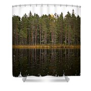 Pitkajarvi 2 Shower Curtain