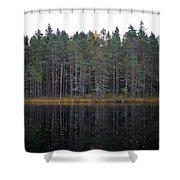 Pitkajarvi 3 Shower Curtain
