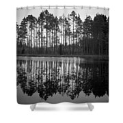 Pitkajarvi 5 Shower Curtain