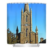 Pointed Church Shower Curtain