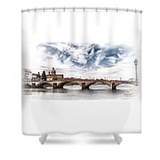 Ponte Alla Carraia, Firenze Shower Curtain
