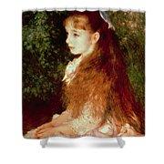 Portrait Of Mademoiselle Irene Cahen D'anvers Shower Curtain