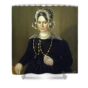 Portrait Of The Wife Of Israel  Shower Curtain