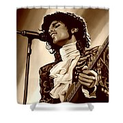 Prince The Artist Shower Curtain