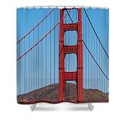 San Fransisco Bay Bridge Shower Curtain