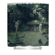 Scene From 'a Midsummer Night's Dream Shower Curtain