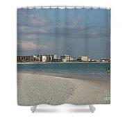 Siesta Key Beach Shower Curtain