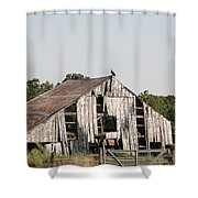 South Of Moberly Shower Curtain