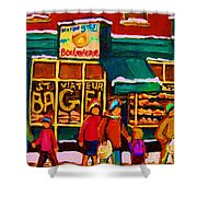 St. Viateur Bagel Family Bakery Shower Curtain