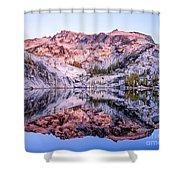 Leprechaun Lake Sunrise Shower Curtain