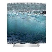 Surf Starter, Kekaha Beach Shower Curtain