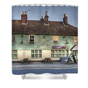 The Bricklayers Arms New Hythe Shower Curtain