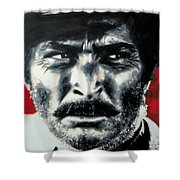 - The Good The Bad And The Ugly - Shower Curtain