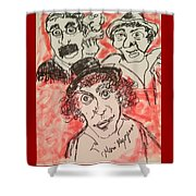 The Marx Brothers Shower Curtain