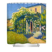 The Studio At Alet-les-bains Shower Curtain