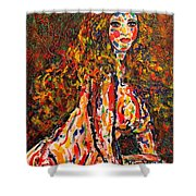 The Wild Woman Shower Curtain