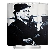 - The Winter Wind - Shower Curtain