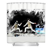 The World Cup Women's Foil  2  Shower Curtain