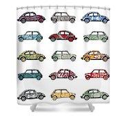 Traffic Jam Shower Curtain