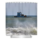 Tugboat Thomas D Witte Shower Curtain
