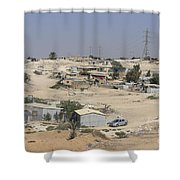 Unrecognized, Beduin Shanty Township  Shower Curtain