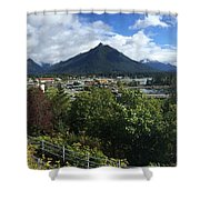 View From Top Of Castle Hill Sitka Alaska 2015 Shower Curtain