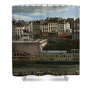 View Of The Seine Shower Curtain