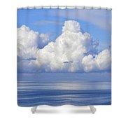 Viewing Platform Shower Curtain