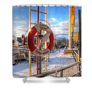 Winter Stokholm  Swiss Shower Curtain