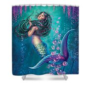 Wisteria - Soften The Edges Shower Curtain