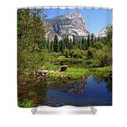 @ Yosemite Shower Curtain