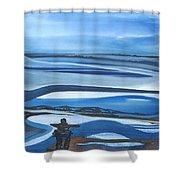 Inukshuk   Shower Curtain