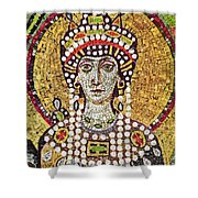 Theodora (c508-548) Shower Curtain