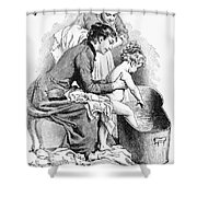 Pears' Soap Ad, 1887 Shower Curtain