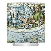 Amerigo Vespucci (1454-1512) Shower Curtain