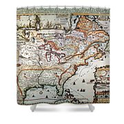 New France, 1719 Shower Curtain