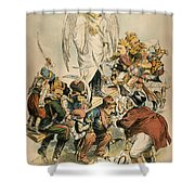 Otto Von Bismarck Shower Curtain