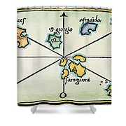Azores, 1528 Shower Curtain