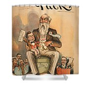 William Jennings Bryan Shower Curtain