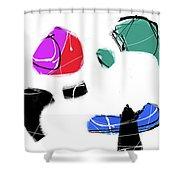 000808ba Shower Curtain