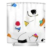 000812aa Shower Curtain