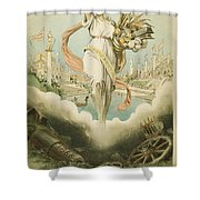 Atlanta Exposition, 1895 Shower Curtain