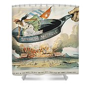 Spanish-american War, 1898 Shower Curtain
