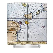 Traces Of Atlantis Shower Curtain