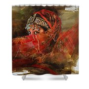 002 Pakhtun B Shower Curtain