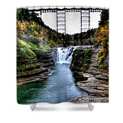 0032 Letchworth State Park Series  Shower Curtain
