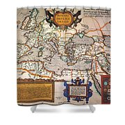 Map Of The Roman Empire Shower Curtain